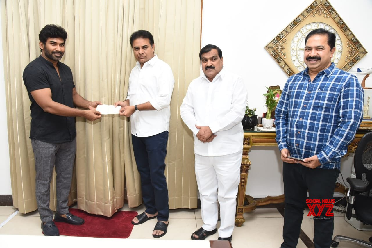 Mogali Rekulu Fame Hero Sagar Donated 5 Lakhs For Telangana CM Relief Fund To Fight COVID 19