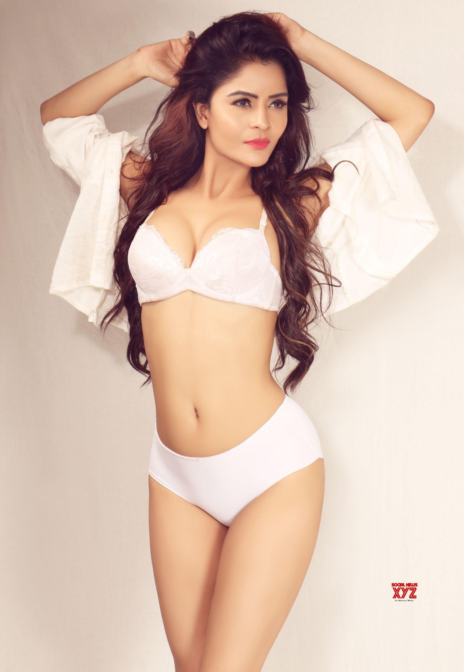 Actress Gehana Vasisth Latest Hot HD Stills From Sensual And Exotic Shoot With Fabglam Studios