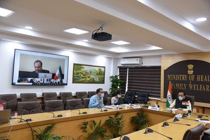 New Delhi: Harsh Vardhan participates in NAM Health Ministers meeting #Gallery