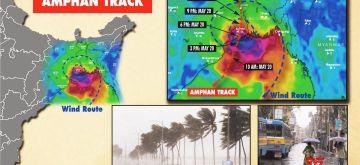 Cyclone Amphan track. (IANS Infographics)