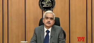 Mumbai: Reserve Bank of India (RBI) Governor Shaktikanta Das addresses a press conference in Mumbai on May 22, 2020. (Photo: IANS/RBI)