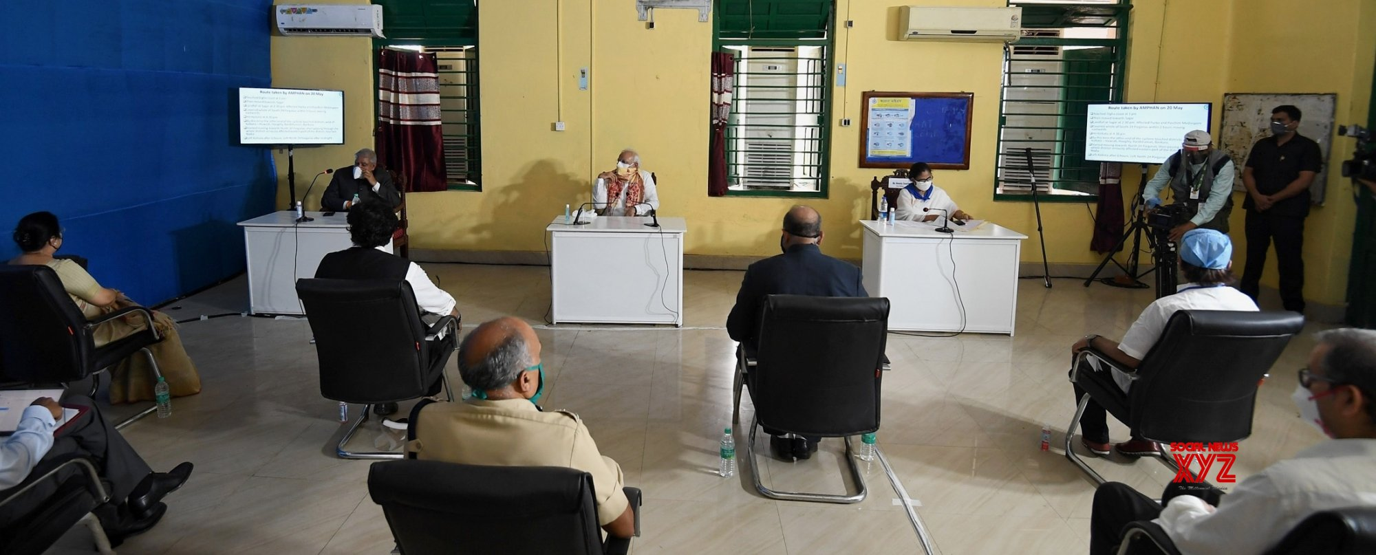 Basirhat: PM Modi holds review meeting after aerial survey of cyclone affected areas of WB #Gallery