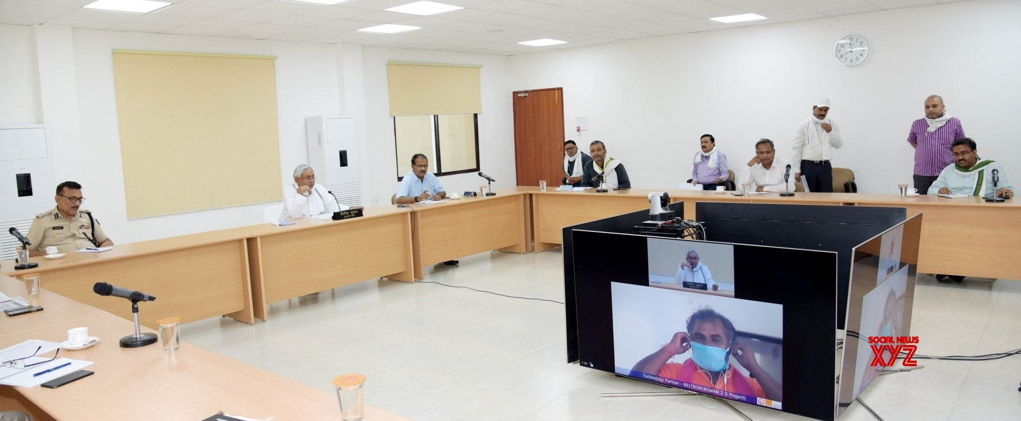 Patna: Nitish Kumar inspects COVID - 19 quarantine centers across the state #Gallery