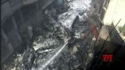 Deadly passenger plane crash in Karachi, Pakistan (Video)