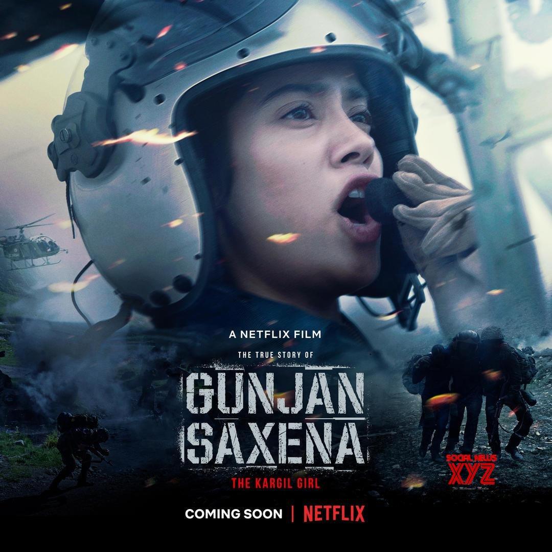 Janhvi Kapoor S Gunjan Saxena The Kargil Girl Coming Soon Only On Netflix Social News Xyz