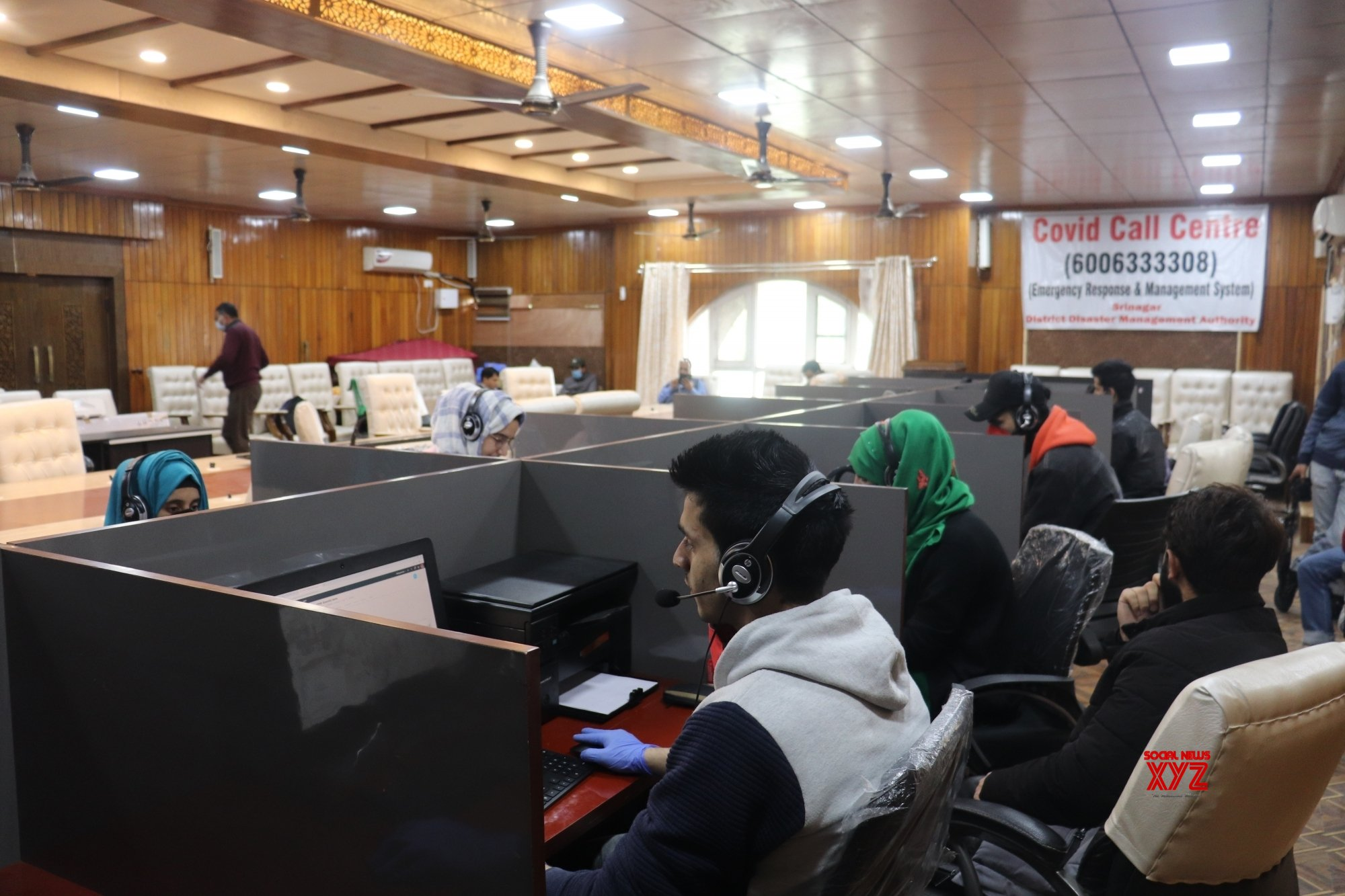 Oxygen War Rooms, Covid Control Rooms set up in J&K with sops for medical staff