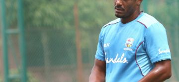 Hyderabad: Shannon Gabriel of West Indies during a practice session ahead of the second test match between India and West Indies at the Rajiv Gandhi International Cricket Stadium, in Hyderabad on Oct 10, 2018. (Photo: Surjeet Yadav/IANS)