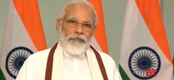 New Delhi: Prime Minister Narendra Modi addresses at the inauguration of the 90th birth anniversary celebrations of Rev. Dr Joseph Mar Thoma Metropolitan through video conferencing, in New Delhi on June 27, 2020. (Photo: IANS/BJP)