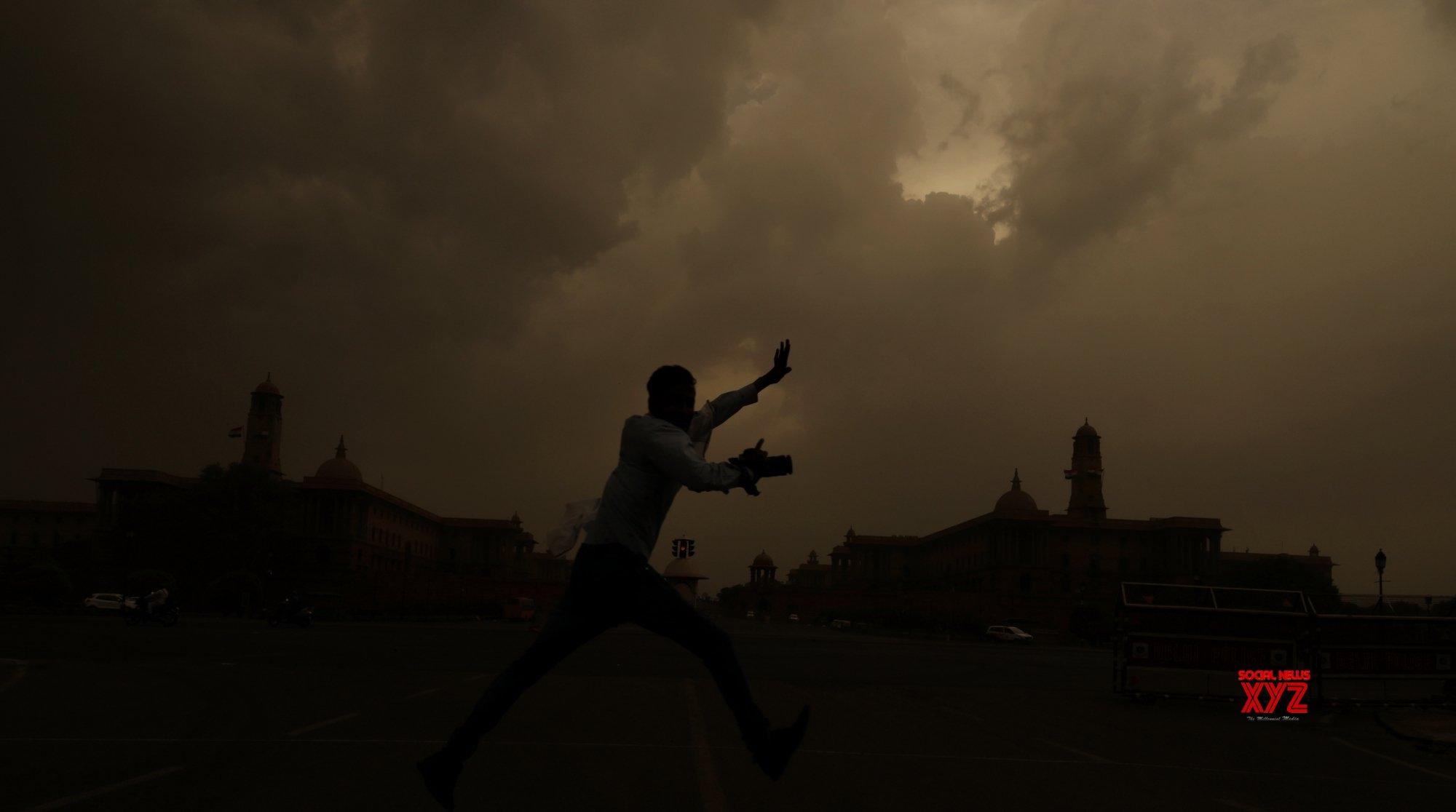 New Delhi: Overcast day #Gallery