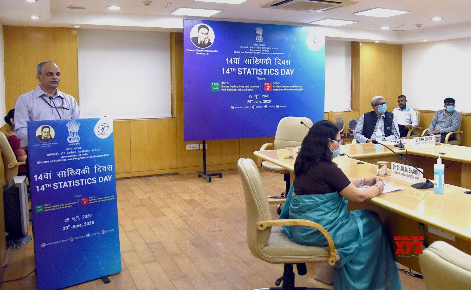 New Delhi: Webinar organised on 14th Statistics Day - 2020 #Gallery