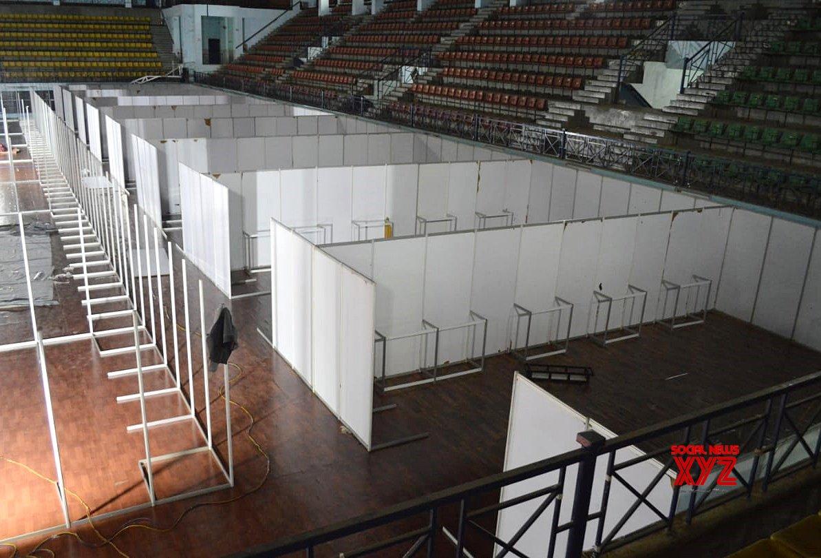 Bengaluru: Koramangala Indoor Stadium to be converted into Covid Care Centre #Gallery