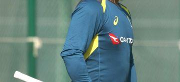 Rajkot: Australian captain Aaron Finch during a practice session ahead of their second ODI of the three-match series against India, at Saurashtra Cricket Association Stadium in Gujarat's Rajkot on Jan 16, 2020. (Photo: Surjeet Yadav/IANS)