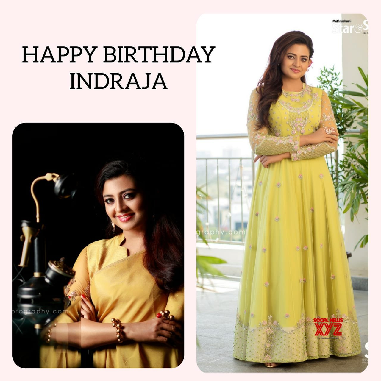 Actress Indraja Birthday 2020 Stills And Posters