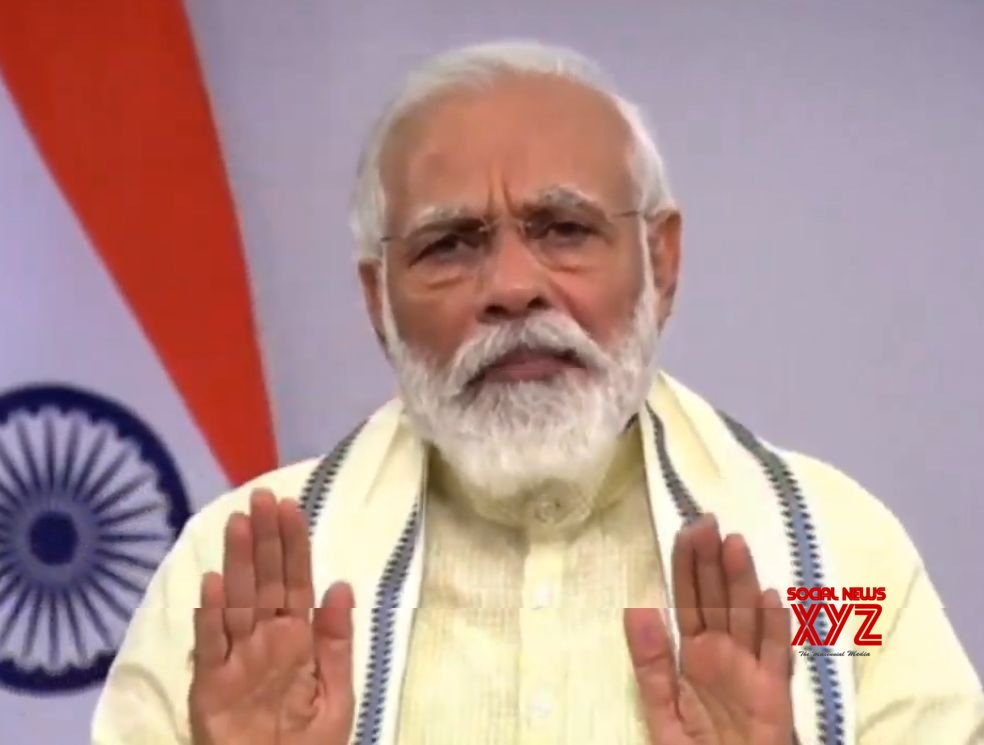 New Delhi: PM Modi addresses the nation #Gallery
