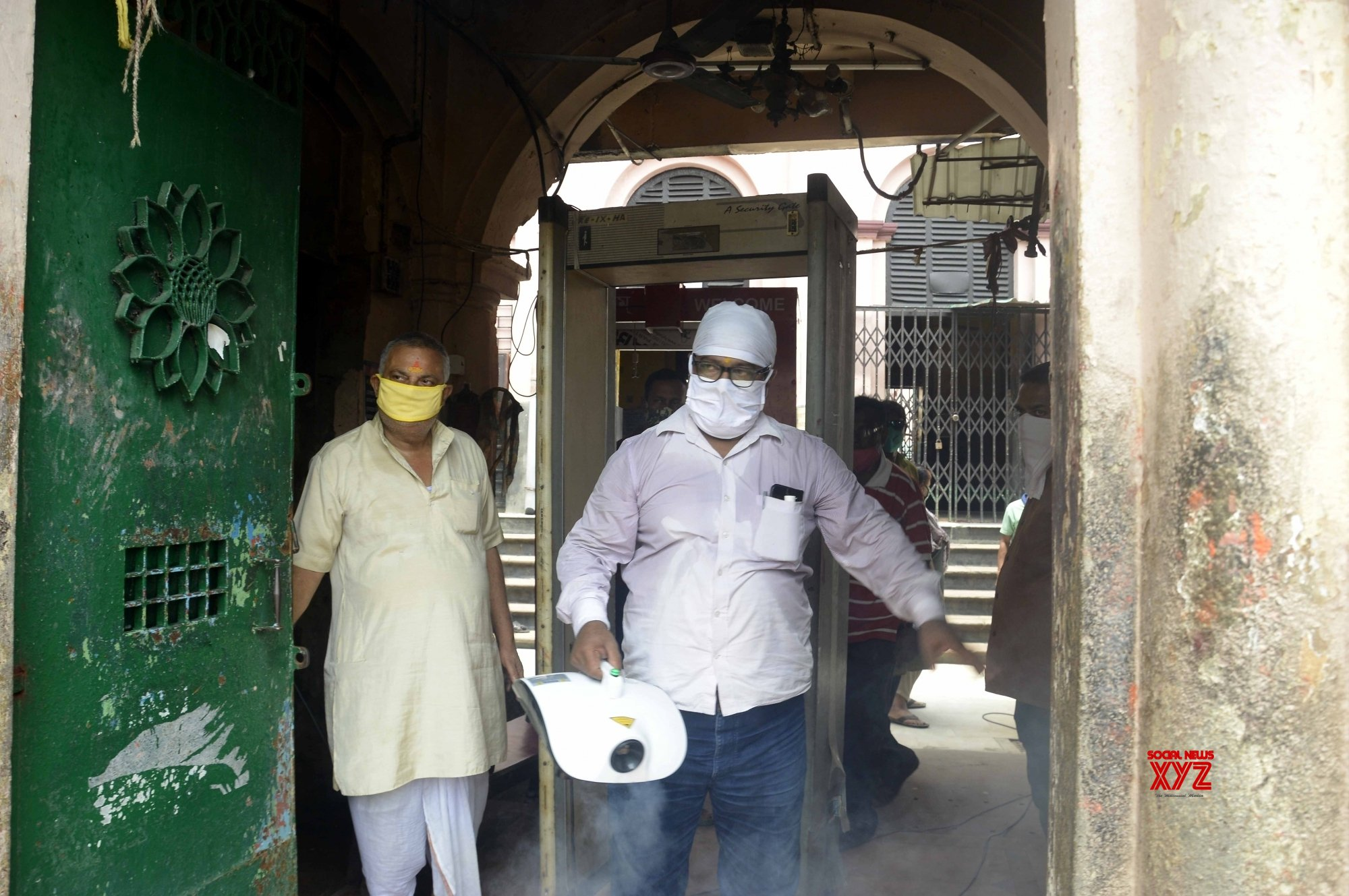Kolkata: Kalighat Kali temple gears up to re - open for devotees amid COVID - 19 pandemic #Gallery