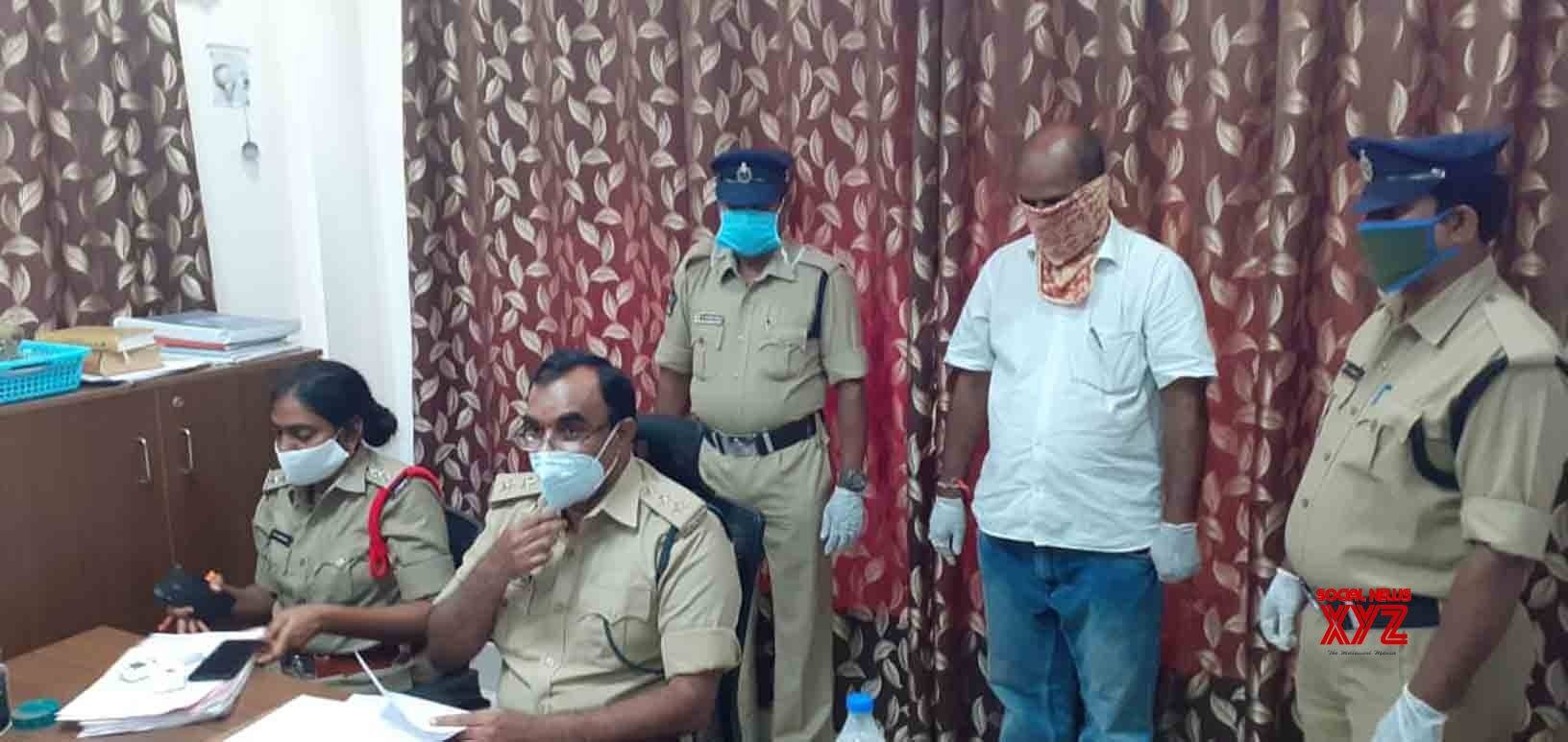 Amaravati: Andhra official held for assaulting woman over wearing of mask #Gallery