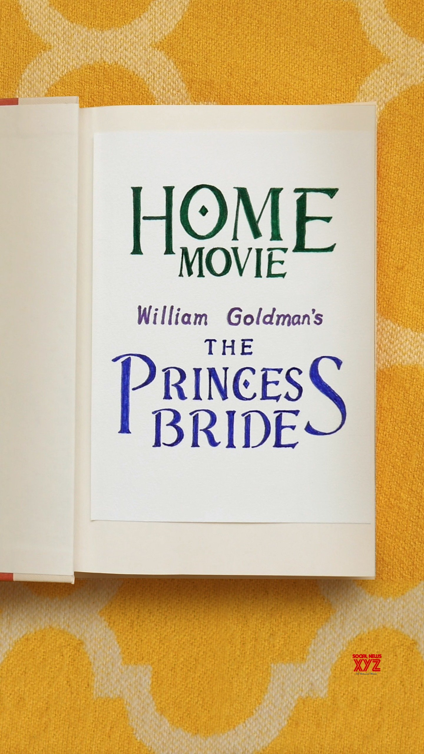 Home Movie: The Princess Bride Movie HD Poster And Stills