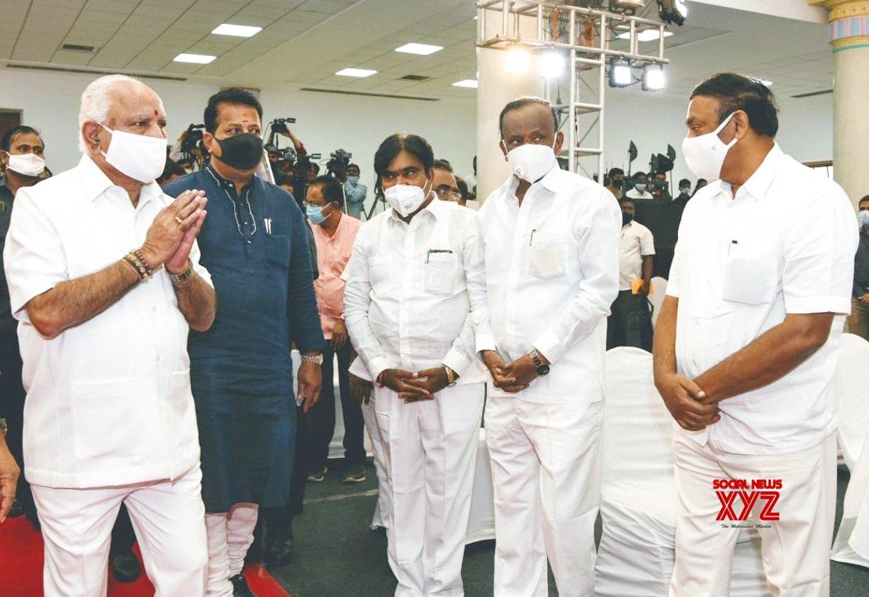 Bengaluru: BJP celebrates 1 - yr in office in Karnataka digitally #Gallery