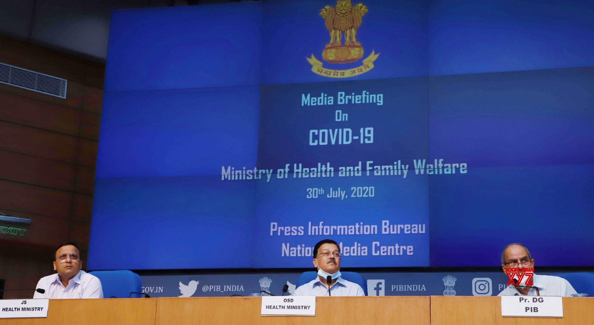 New Delhi: Health Ministry holds press conference on COVID - 19 #Gallery