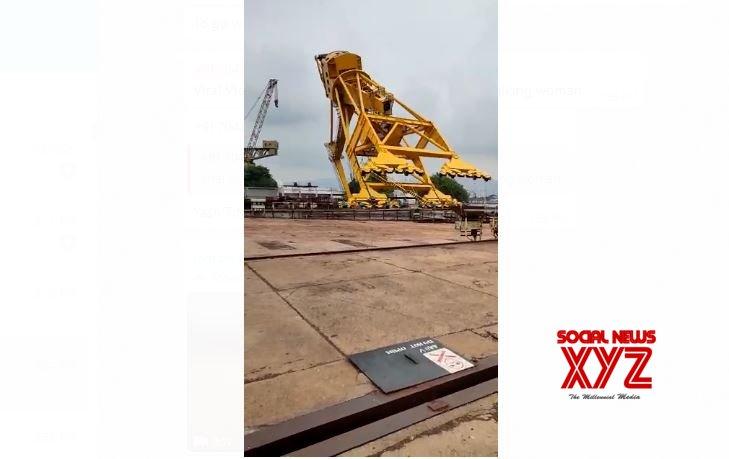 10 killed as crane collapses at Hindustan Shipyard in Vizag