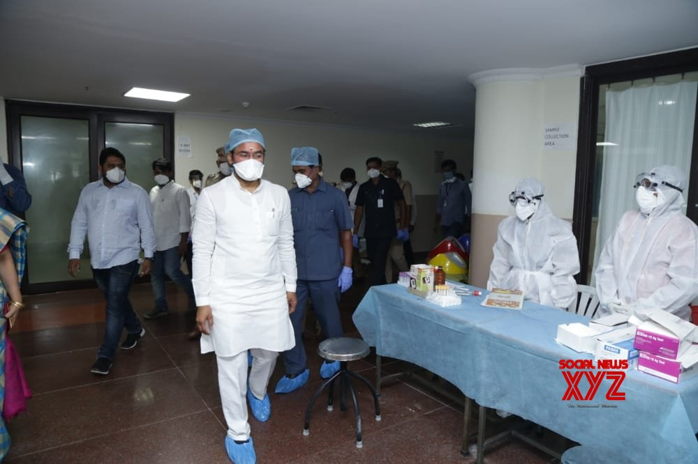 Hyderabad: G. Kishan Reddy pays inspection visit to COVID - 19 designated hospitals #Gallery