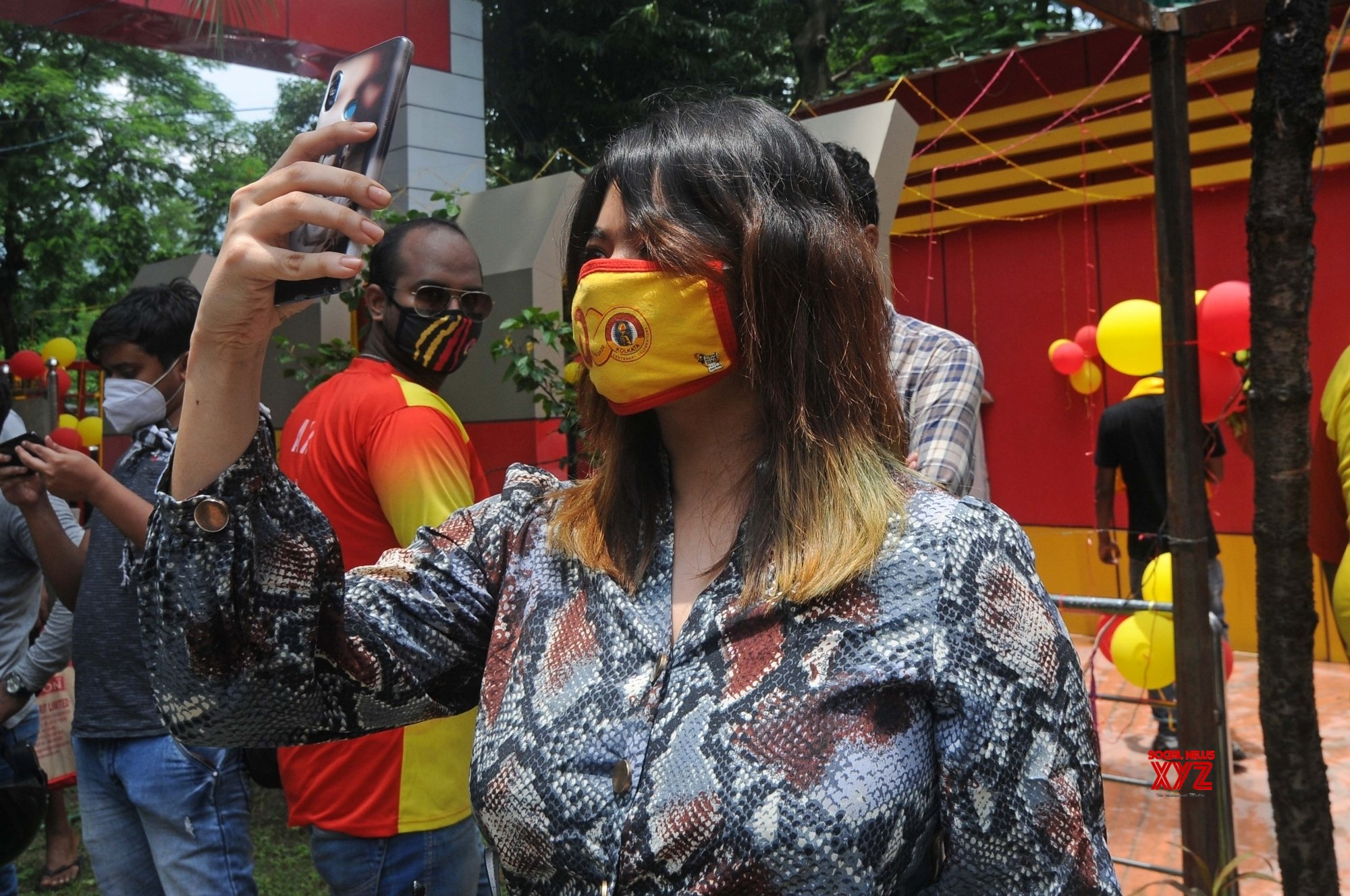 Kolkata: Fans celebrate the Centenary foundation day of East Bengal Club #Gallery