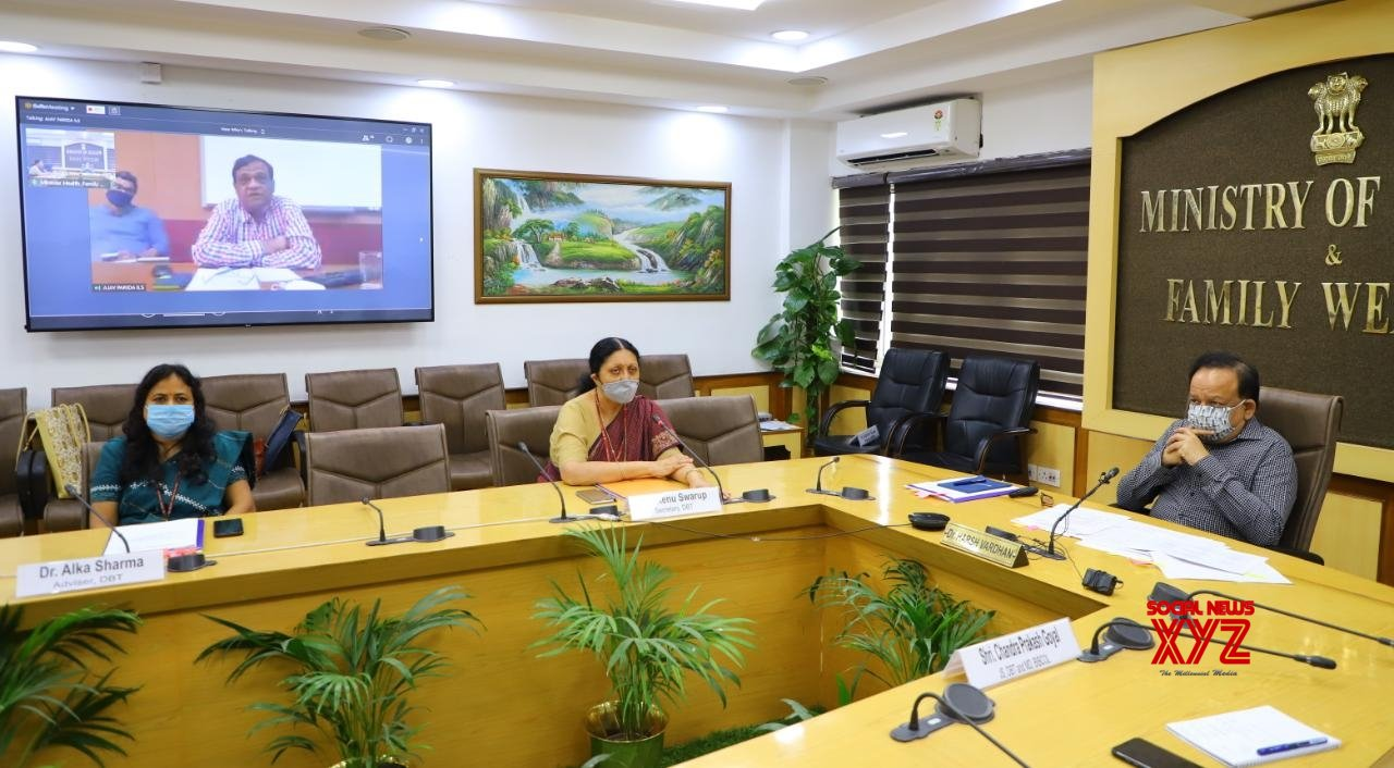 New Delhi: Harsh Vardhan chairs meeting with the Department of Biotechnology #Gallery