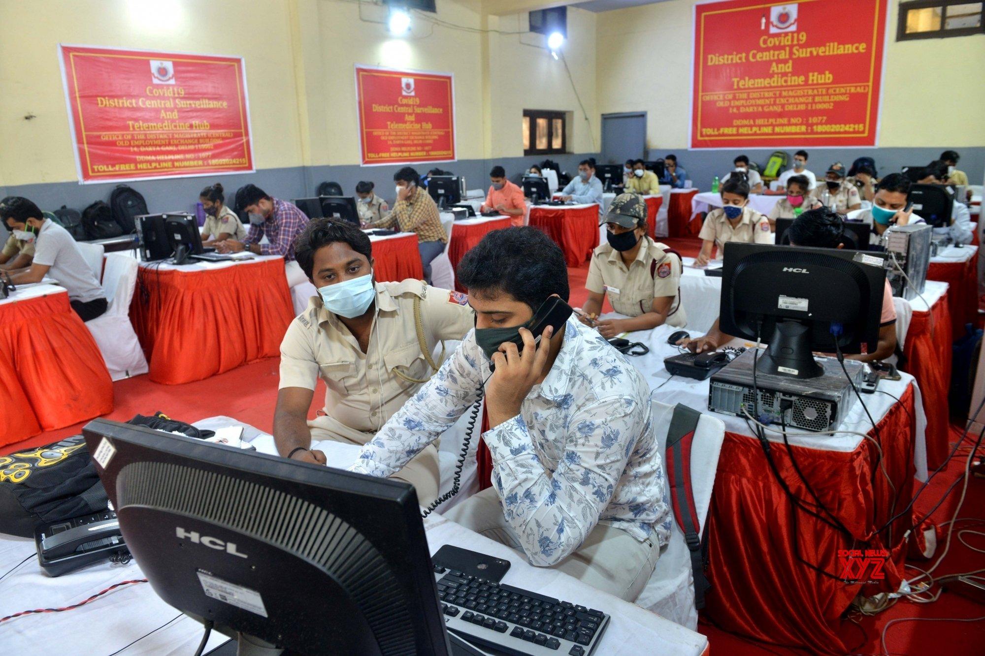 New Delhi: COVID - 19 District central surveillance and Telemedicine hub #Gallery
