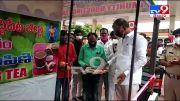 Minister Harish Rao inaugurates free kashayam canteen in Siddipet - TV9 (Video)