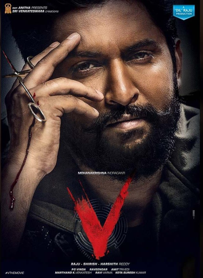 Makers of Nani's 'V' speak about speculations on direct OTT release, Confirms theater release for Christmas
