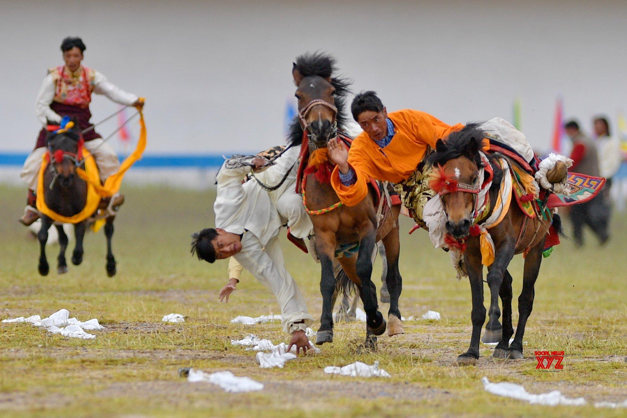 CHINA - TIBET - NAGQU - HORSE RACE #Gallery