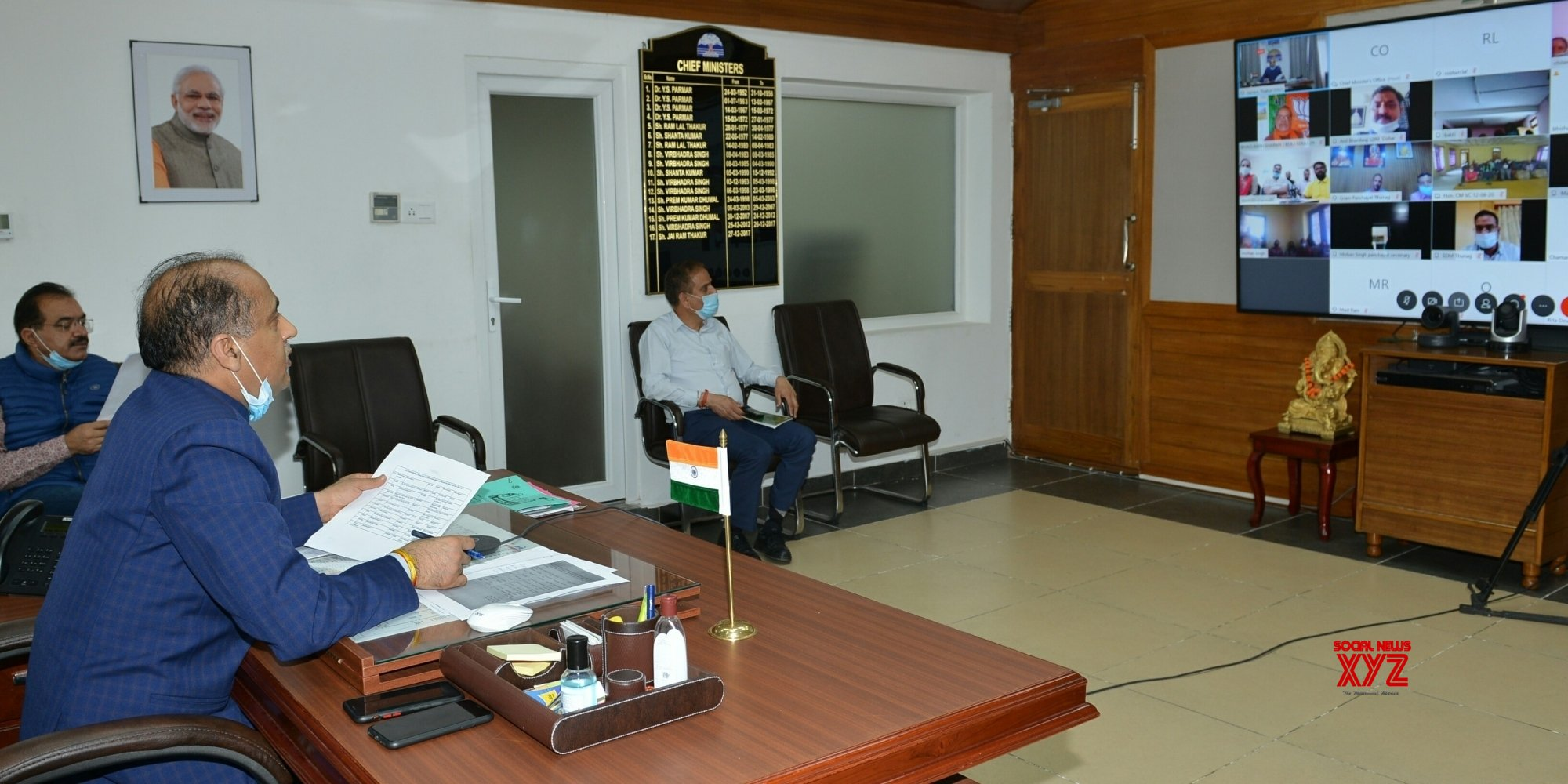 Shimla: Himachal CM interacts with the beneficiaries of various schemes of Seraj #Gallery