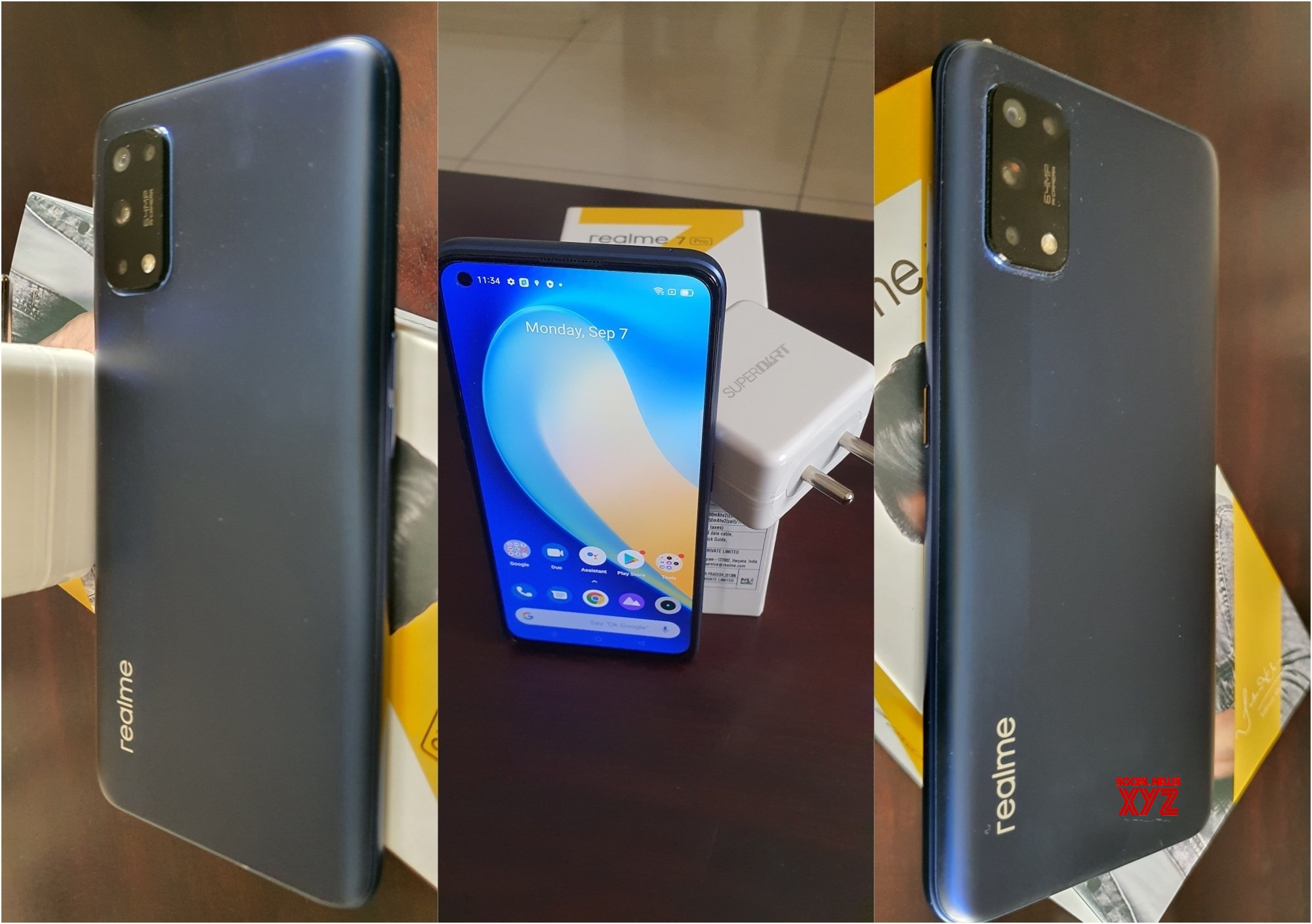 Realme 7i received a unique design. High-quality images of the smartphone appeared