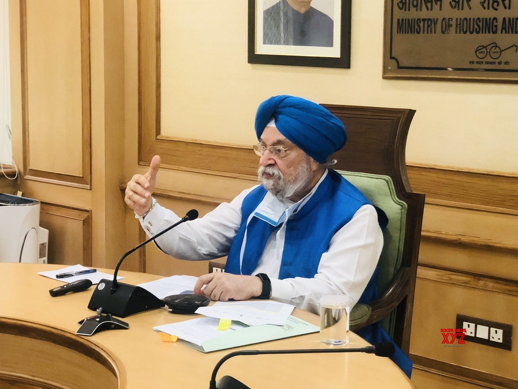 New Delhi: Hardeep Singh Puri launches CSCAF 2.0 and Streets for People Challenge #Gallery