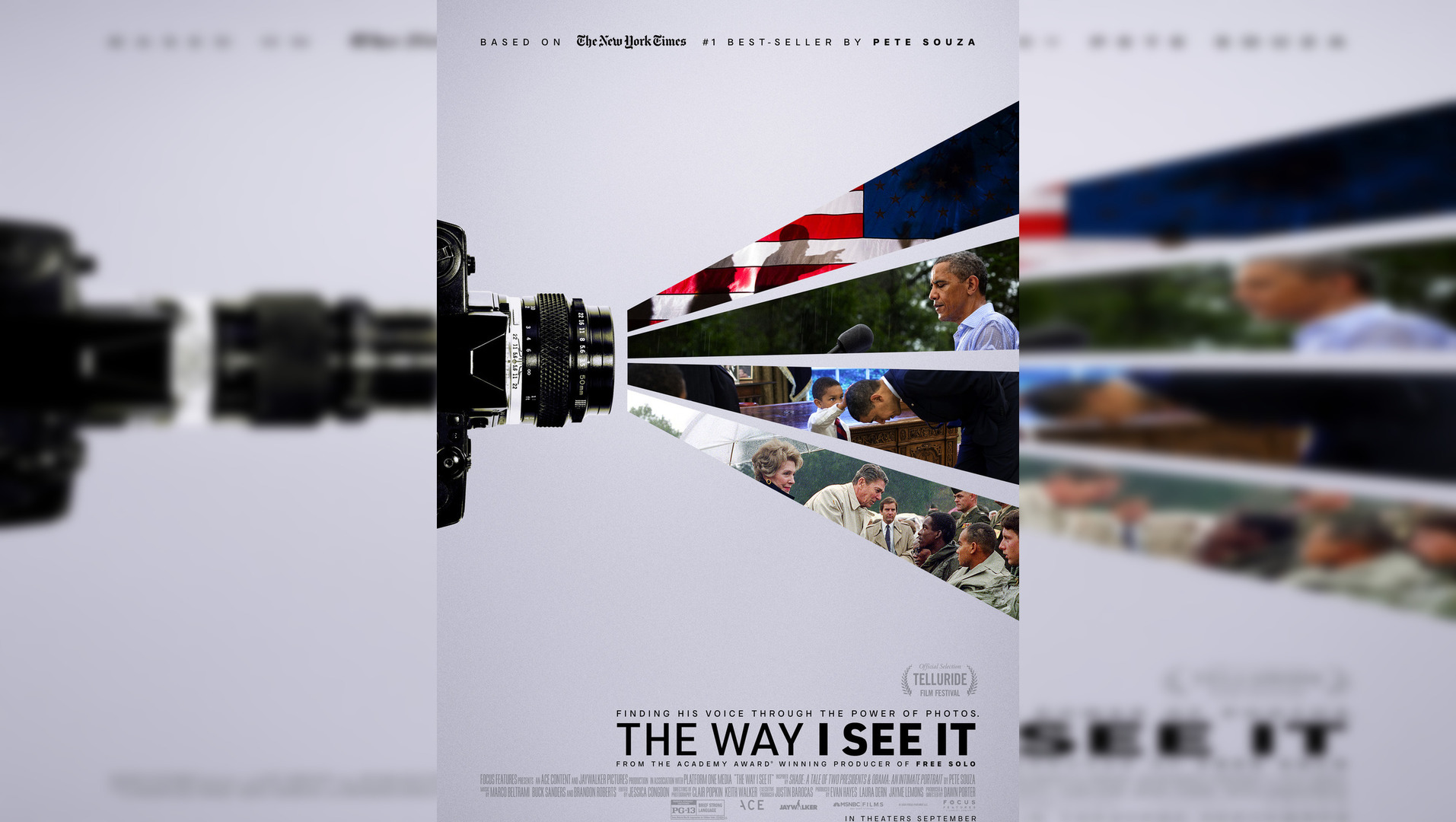 The Way I See It Review:  A Nostalgic Documentary about the Chief Photographer of the Obama Administration - Pete Souza(Rating: ***)