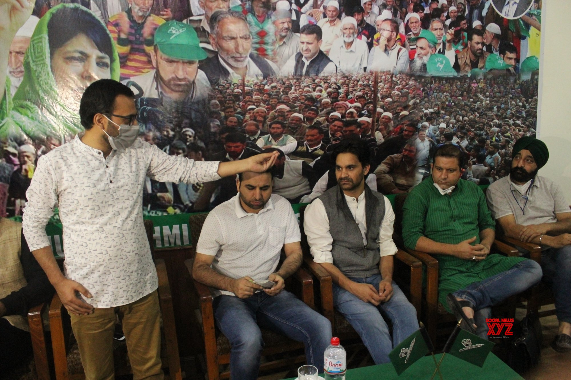 Srinagar: PDP holds 1st meeting after abrogation of Article 370 #Gallery