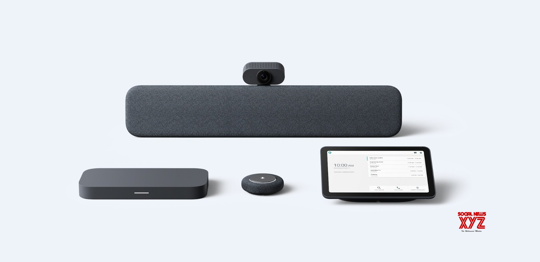 Google unveils new Meet hardware for efficient video chats