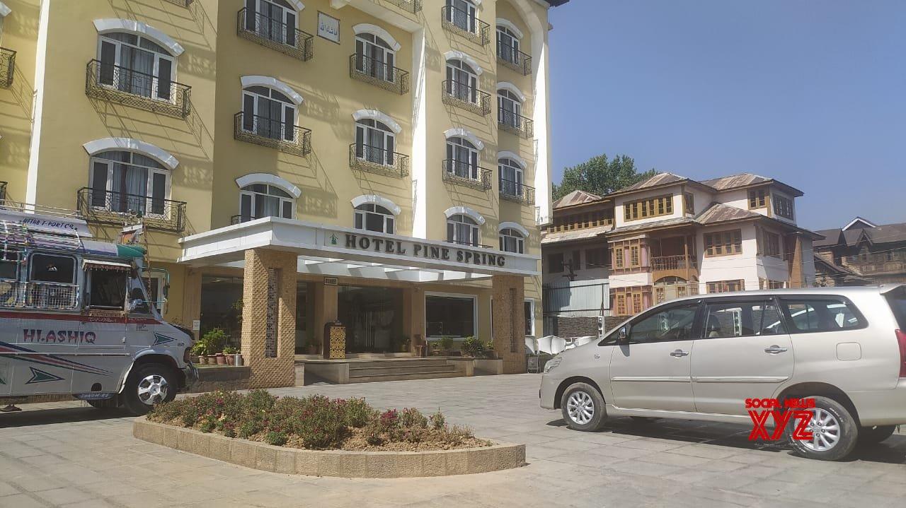 Srinagar: NIA sleuths conduct raid at several places in Srinagar #Gallery