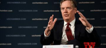 U.S. Trade Representative (USTR) Robert Lighthizer speaks at an event hosted by the U.S. Chamber of Commerce in Washington D.C., the United States, on May 1, 2018. (Xinhua/Yang Chenglin/IANS)