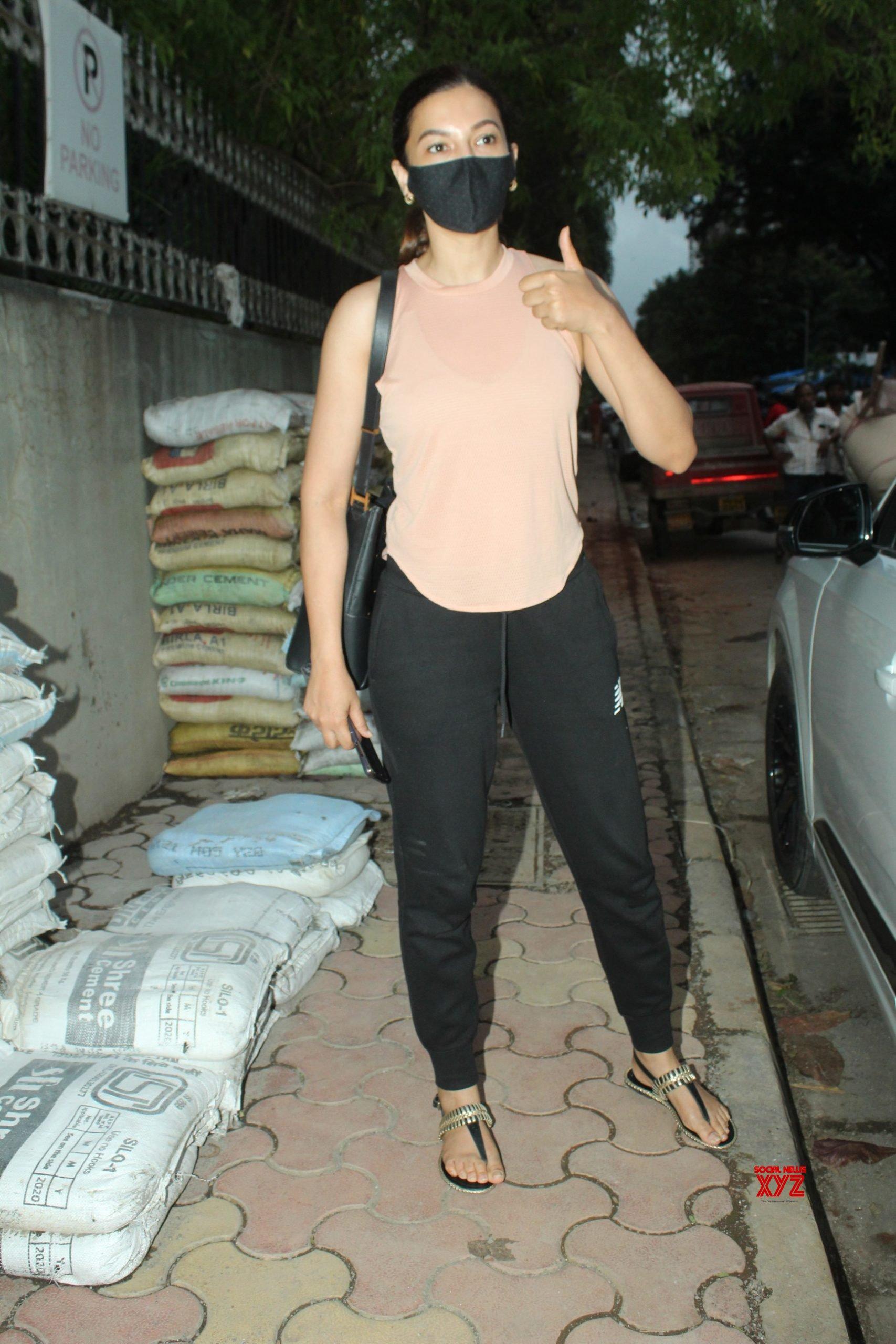 Actress Gauhar Khan Spotted At Andheri Gallery
