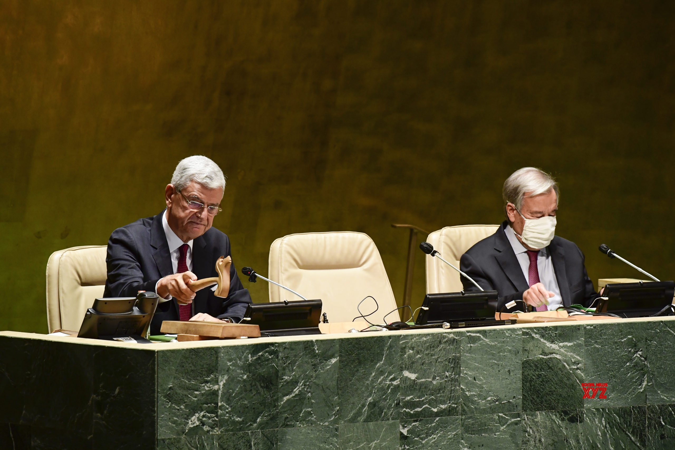 UN - GENERAL ASSEMBLY - 75TH SESSION - OPENING #Gallery