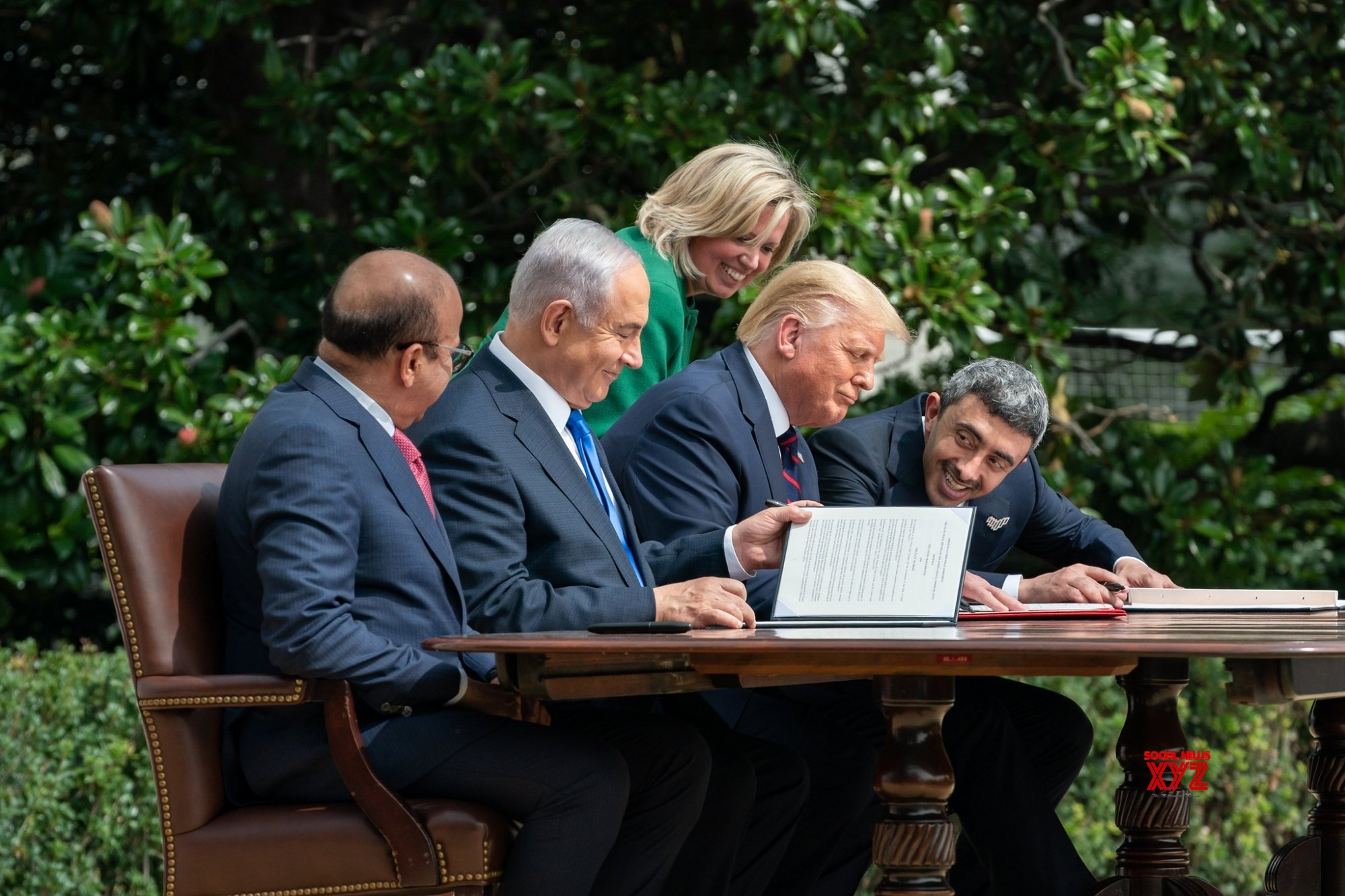 As election looms large, Trump touts Israel deal and pursues Af peace