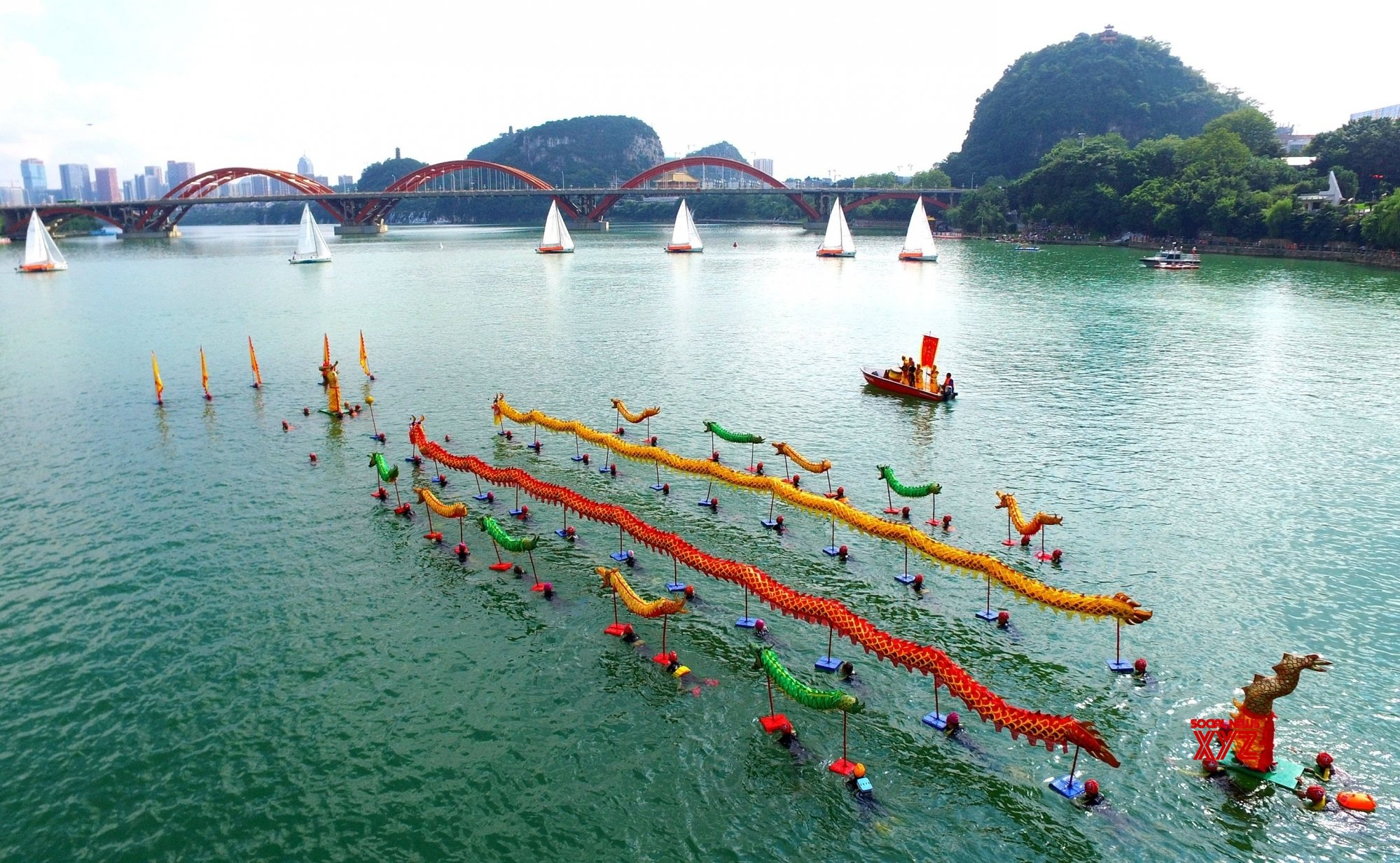 Water carnival to kick off from Sept 29 in China