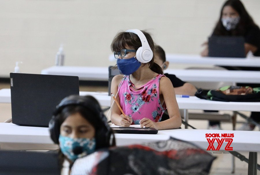 Nearly 550,000 children in U.S. test positive for COVID - 19 #Gallery