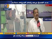 Vizag Port Chairman Rama Mohan Rao interview over Export Import procedures at Port  (Video)