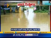 Heavy rainfall across state hits normal life  (Video)