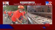 PM Modi's birthday, Surat bakery makes 71-feet-long cake with 'corona warriors' theme - TV9 (Video)
