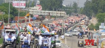 Farmers stage protests in Punjab, Haryana. (Photo: @srinivasiyc)