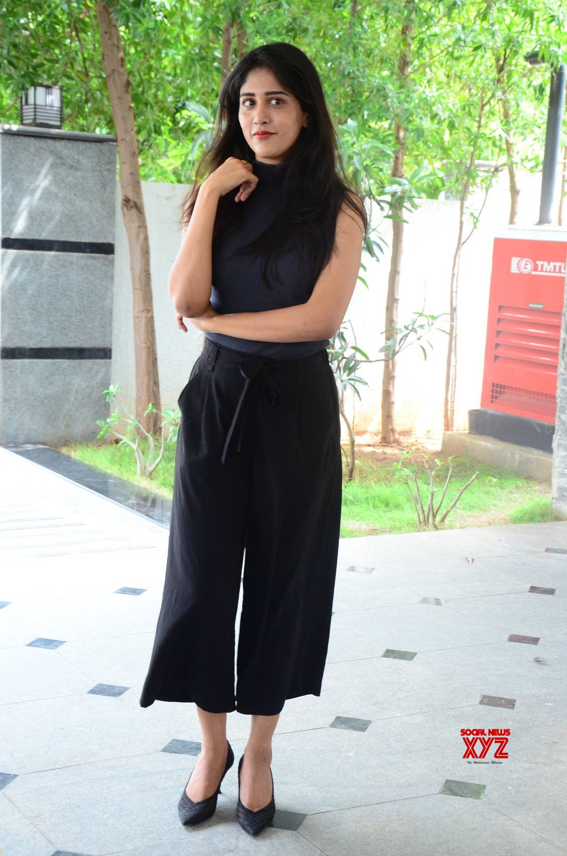 Actress Chandini Chowdary Stills From Colour Photo Movie Interview