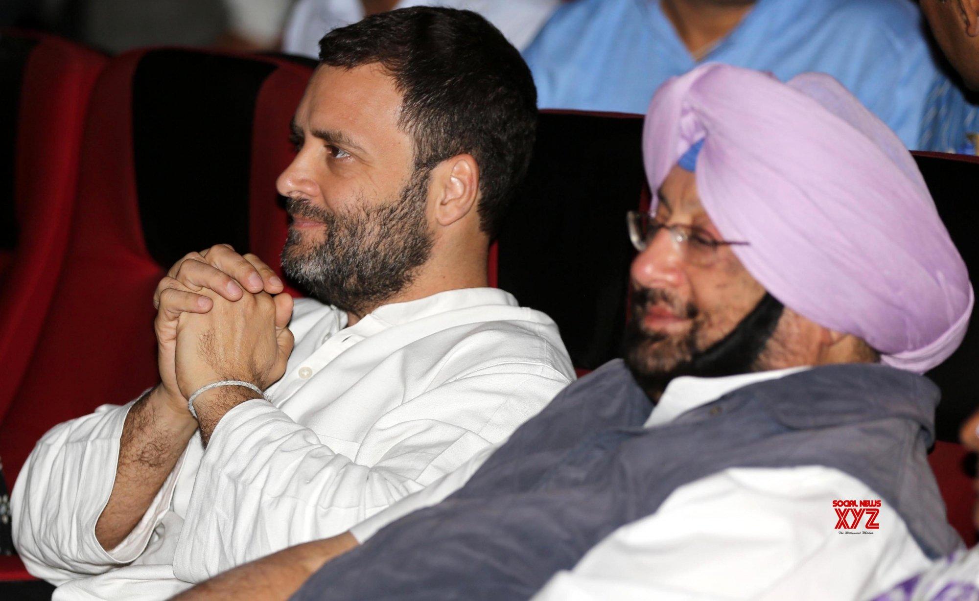 Rahul, Amarinder launch Rs 2,775 cr Smart Village campaign